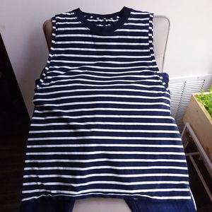 Lululemon Striped Boyfriend Tank